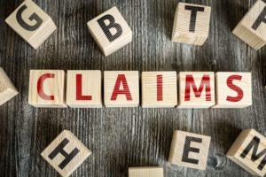 insurance claim written